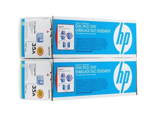 Фото - Тонер-картридж HP CB435AD (двойная упаковка) для LJ P1005/P1006 (2 x 1 500 стp) тонер картридж 728 3500b010 русифицированная упаковка