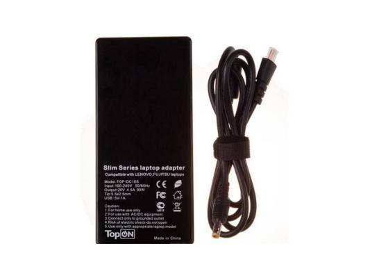 Ультратонкий (17мм) блок питания, сетевая зарядка для ноутбука Fujitsu-Siemens TopOn Top-DC10S