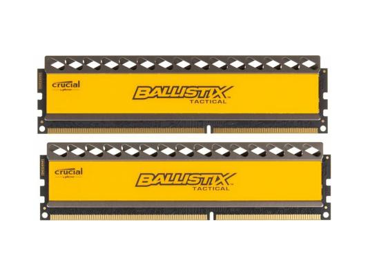 Оперативная память 8Gb (2x4Gb) PC3-14900 1866MHz DDR3 DIMM CL9 Crucial Ballistix Tactical оперативная память dimm ddr3 crucial ballistix tactical 8gb pc 14900 1866mhz cl9 blt8g3d1869dt1tx0ceu