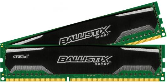Оперативная память 8Gb (2x4Gb) PC3-12800 1600MHz DDR3 DIMM CL9 Crucial Ballistix Sport CL9 BLS2CP4G3D1609DS1S00CEU fashion men s long zip leather clutch wallets male famous brand business purses with card holder phone pocket wallet for men