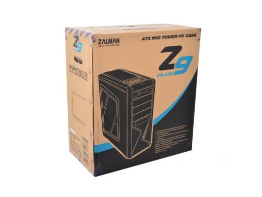 Корпус ATX Zalman Z9 Plus Без БП чёрный