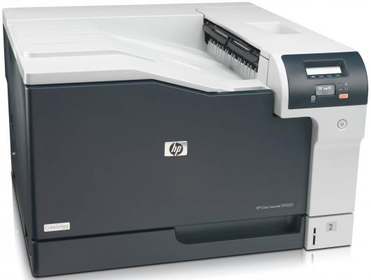 Принтер лазерный HP Color LaserJet Professional CP5225 <CE710A> A3, 20/20 стр/мин, 192Мб, USB