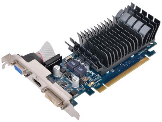 Видеокарта 1Gb <PCI-E> Asus EN210 Silent DI V2 с CUDA <GF210, GDDR3, 64 bit, HDCP, DVI, HDMI, Low Profile, Retail>