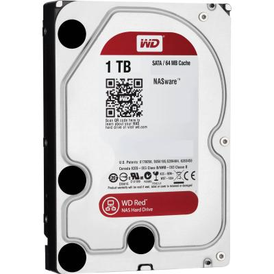 все цены на 3.5'' Жесткий диск 1Tb Western Digital Caviar Red (WD10EFRX) SATA III <5400rpm, 64Mb>