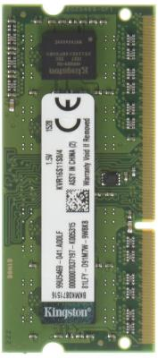 Оперативная память SO-DIMM DDR3 Kingston 4Gb (pc-12800) 1600MHz <Retail> (KVR16S11S8/4)