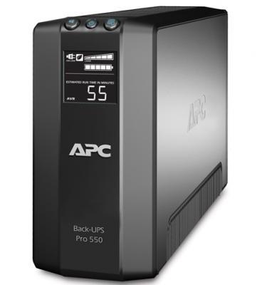 цена на Источник бесперебойного питания APC APC Power-Saving Back-UPS Pro 550 BR550GI 550VA Черный