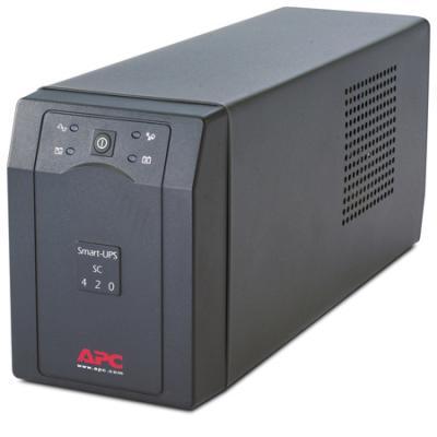 ИБП APC SMART SC 420VA SC420I ибп apc smart ups 420va 260w sc420i