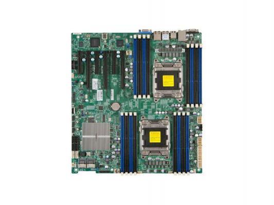 Материнская плата для ПК Supermicro MBDX9DRIFO Socket 2011 Intel C602 16хDDR3 3xPCI-E 16x 3xPCI-E 8x 8xSATA II 2xSATAIII EATX Retail