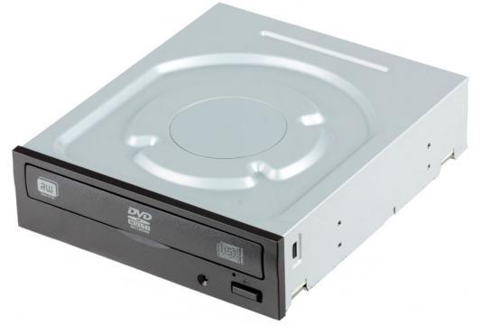 Оптический привод DVD±RW Lite-On iHAS124-04 <SATA, Oem> Black оптический привод dvd rw lite on ds 8acsh внутренний sata черный oem