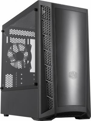 Cooler Master MasterBox MB320L, 2xUSB3.0, 1x120 Fan, w/o PSU, Black, mATX