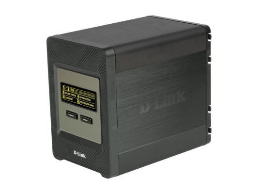 Сетевое хранилище D-Link DNS-346 Сетевой дисковый накопитель с четырьмя отсеками для жестких дисков
