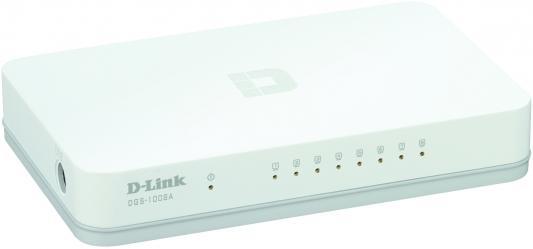 Коммутатор D-Link DGS-1008A
