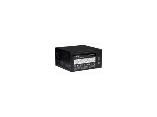 Блок питания Hiper 500W Retail M500 EPS12V, 1x14cm Fan, Red Led, Active PFC, W/20+4, P4/EPS 4pin/8pin combo SATA + SATAx3, PCIE(6+2)x2