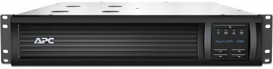 ИБП APC SMART 1500VA USB LCD SMT1500RMI2U ибп apc smart smc1500i 1500va
