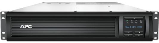 ИБП APC SMART 2200VA USB LCD SMT2200RMI2U ибп apc smt2200rmi2u smart ups 2200va 1980w lcd 2u rackmount