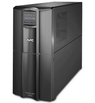 ИБП APC SMART 3000VA LCD SMT3000I ибп apc smart x smx3000hvnc 3000va черный