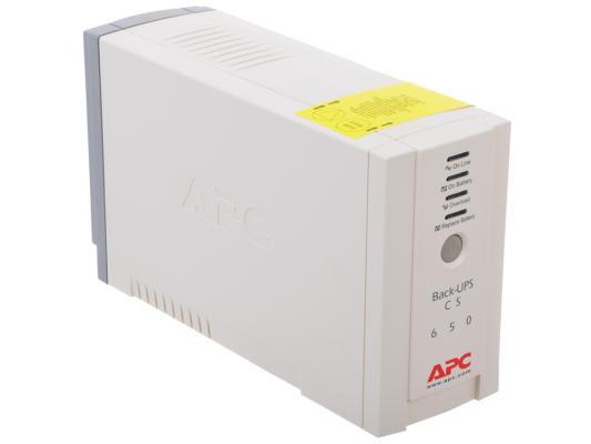 ИБП APC BACK 650VA BK650EI источник бесперебойного питания ippon back power pro lcd 600