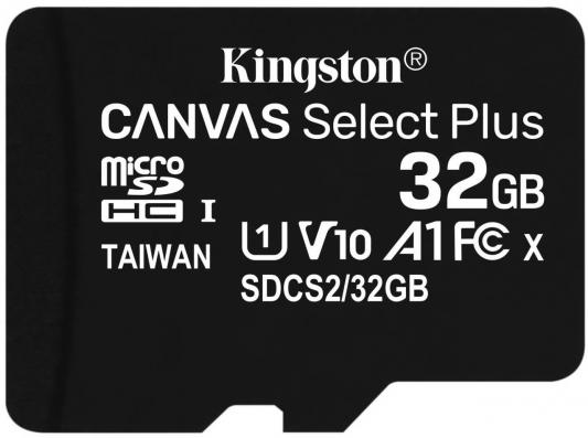 Фото - Карта памяти microSDXC 32GB Kingston Class10 UHS-I Canvas Select up to 100MB/s с адапт (SDCS2/32GB-3P1A) карта памяти microsdhc 16gb kingston class10 uhs i canvas select up to 100mb s с адапт sdcs2 16gb 2p1a