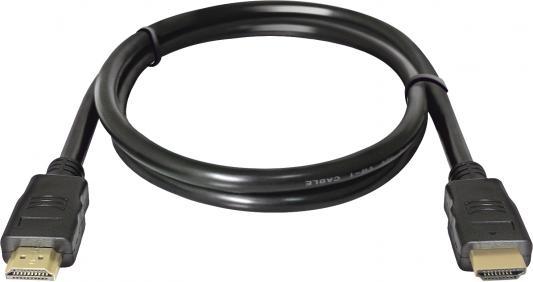 Фото - Кабель HDMI-HDMI 1.0м v1.4 Defender HDMI-03 87350 кабель hdmi hdmi 3 0м v1 4 defender hdmi 10pro 87434
