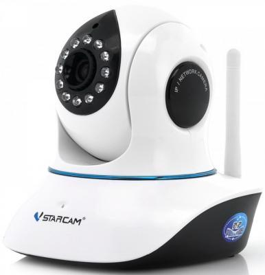 Фото - Камера IP VStarcam C7838-RUSS CMOS 1/4 1280 x 720 H.264 Wi-Fi RJ-45 LAN белый поврежденная упаковка ip камера vstarcam c8834wip x4