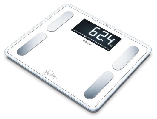 Фото - Весы напольные Beurer BF410 белый весы напольные beurer bf410 чёрный