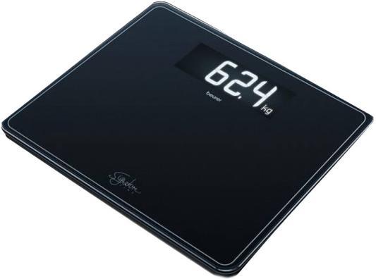 Фото - Весы напольные Beurer GS410 чёрный весы напольные beurer bf410 чёрный