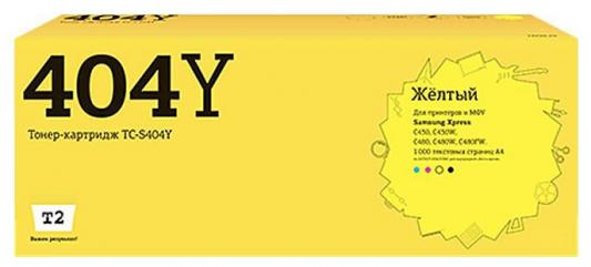 Картридж T2 TC-S404Y для Samsung Xpress SL-C430/C430W/C480/C480W/C480FW 1000стр Желтый