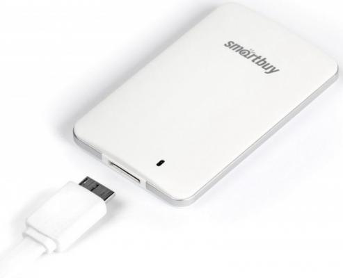 Фото - Внешний жесткий диск 1Tb SSD Smartbuy S3 Drive SB1024GB-S3DW-18SU30 белый (1.8, USB3.0, 425/400Mbs, TLC) внешний ssd smartbuy s3 128 гб черный