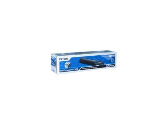 Тонер-картридж Epson C13S050190 black (4000 стр.) для AcuLaser С1100 (S050190) пляжная туника quelle quelle 932705