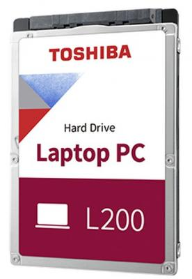 Жесткий диск для ноутбука 2.5 1 Tb 5400rpm 128Mb Toshiba L200 Slim SATA III 6 Gb/s (HDWL110EZSTA) жесткий диск toshiba l200 slim hdwl110ezsta 1тб hdd sata iii 2 5 rtl