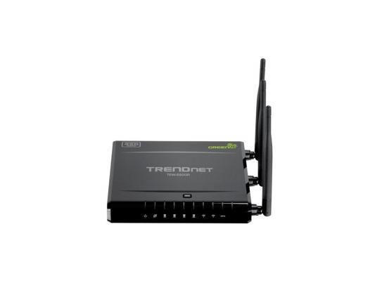 Маршрутизатор TRENDnet TEW-692GR 802.11abgn 450Mbps 2.4 ГГц 5 ГГц 4xLAN черный