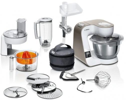 Фото - Кухонный комбайн Bosch MUM5XW40 белый кухонный комбайн bosch mum4426 белый