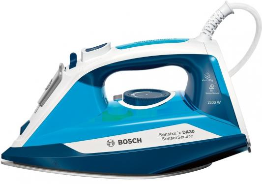 Фото - Утюг Bosch TDA3028210 2800Вт синий белый утюг bosch tda 502412e