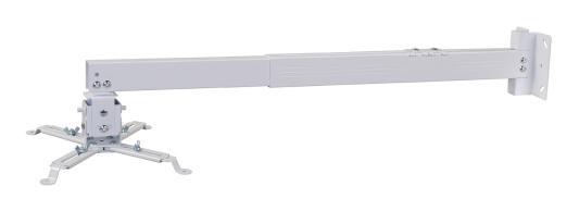 Фото - Кронштейн для проектора Cactus CS-VM-PRE04-WT белый макс.23кг настенный и потолочный поворот и наклон карниз потолочный пластиковый dda поворот акант двухрядный серебро 2 8