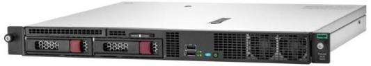 Сервер HPE ProLiant DL20 Gen10 1xE-2224 1x8Gb LFF-2 S100i 1G 2P 1x290W (P17078-B21) сервер dell poweredge r240 1xe 2236 x4 1x4tb 7 2k 3 5 sata rw h330 id9en 1g 2p 1x250w 3y nbd rails per240ru2 1