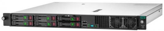 Сервер HPE ProLiant DL20 Gen10 1xE-2224 1x16Gb SFF-4 S100i 1G 2P 1x500W (P17080-B21) сервер dell poweredge r240 1xe 2236 x4 1x4tb 7 2k 3 5 sata rw h330 id9en 1g 2p 1x250w 3y nbd rails per240ru2 1