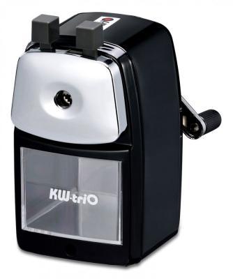 Фото - Точилка для карандашей механическая Kw-Trio 30VA 30VA-BLK 1 отверстие металл черный точилка kw trio 305agr пластик серый