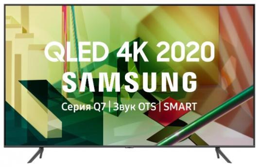 Фото - Телевизор Samsung QE75Q70TAUXRU титан серый телевизор samsung ue43tu7500u 43 2020 серый титан