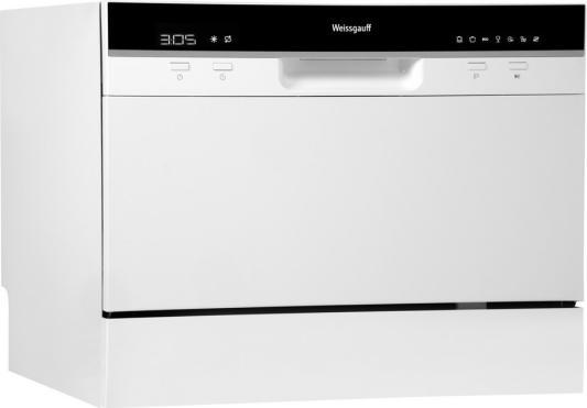 Посудомоечная машина Weissgauff TDW 4017 белый/черный (компактная) посудомоечная машина weissgauff tdw 4006