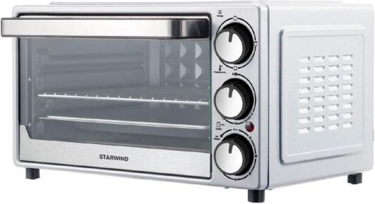 Фото - Мини-печь Starwind SMO2002 18л. 1300Вт серебристый мини печь pioneer mo5015g серебристый