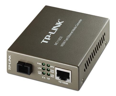 Медиаконвертер TP-Link MC112CS  медиаконвертер tp link mc112cs mc112cs