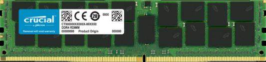 Оперативная память 32Gb (1x32Gb) PC4-25600 3200MHz DDR4 RDIMM ECC Registered CL22 Micron CT32G4RFS432A оперативная память 32gb 1x32gb pc4 25600 3200mhz ddr4 dimm cl22 patriot psd432g32002