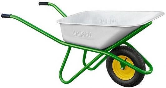Тачка садово-строительная, усиленная, грузоподъемность 200 кг, объем 90 л// Palisad тачка садово строительная ми объем 90 л