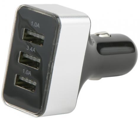 Фото - Автомобильное зарядное устройство Red Line АС-13 3.4A черный УТ000018142 автомобильное зарядное устройство red line ас 13 3 4a черный ут000018142