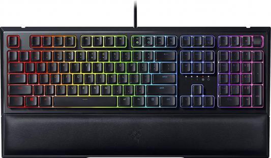 Клавиатура проводная Razer Ornata V2 USB черный