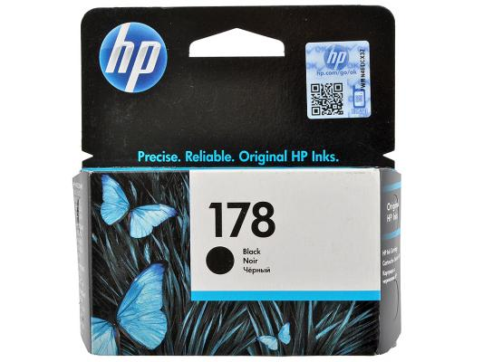 Картридж HP CB316HE (№178) черный , 4 мл. для Photosmart C5383/C6383 hp178 4 color remanufactured printhead for hp photosmartplus b209a b210a b109a b109n tb110a printer head for hp 178