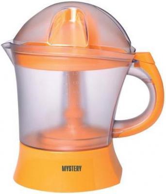 Соковыжималка MYSTERY MJE-1910 25 Вт пластик оранжевый