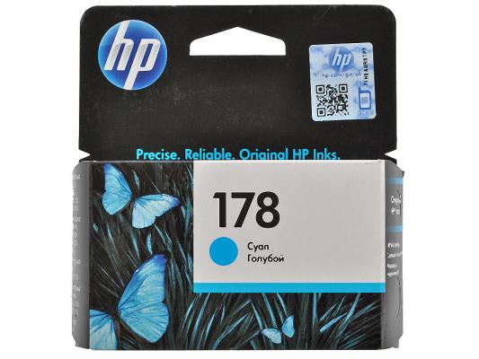 Картридж HP CB318HE (№178) синий , 4 мл.для Photosmart D5463 C5383 / C6383 hp178 4 color remanufactured printhead for hp photosmartplus b209a b210a b109a b109n tb110a printer head for hp 178