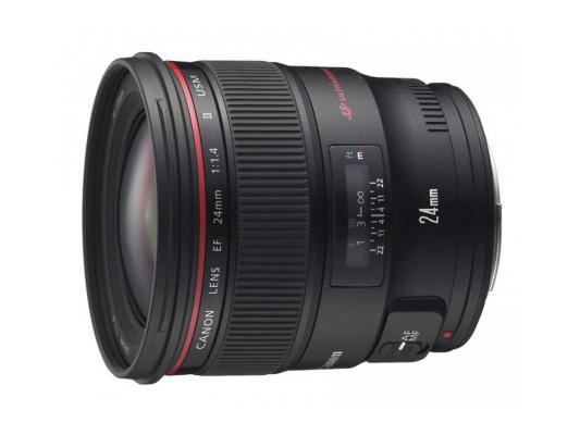 Объектив Canon EF 24 1.4L II USM (2750B005) объектив canon ef 24mm f 2 8 is usm черный