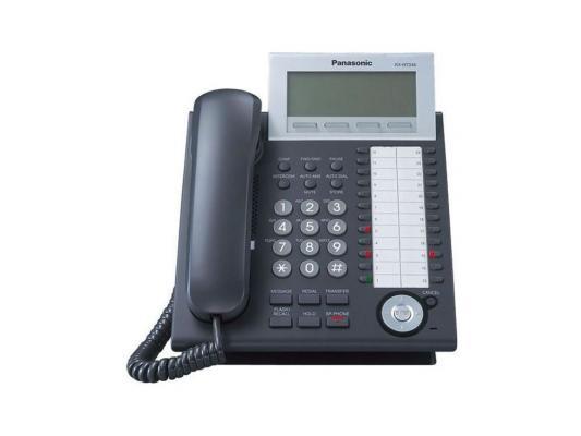 IP телефон Panasonic KX-NT346RU-B от 123.ru